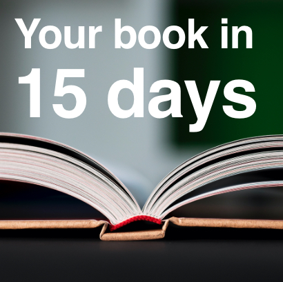 Your book in 15 days